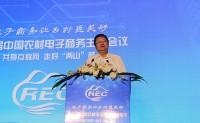 商务部市场体系建设司区域协调处处长李刚在第二届中国农村电商主题会上致辞