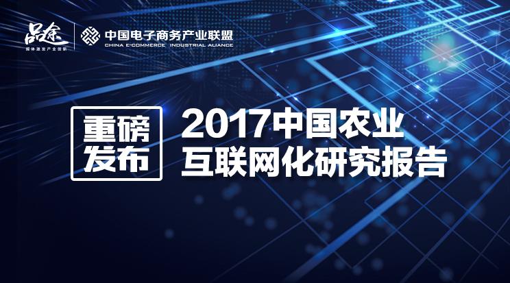 2017中国农业互联网化研究报告