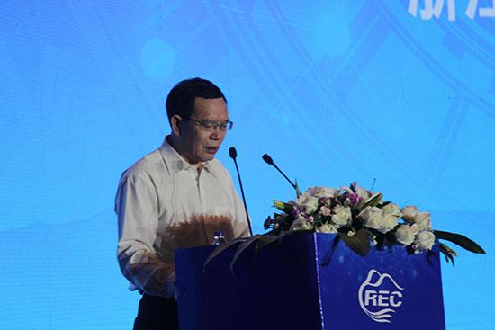 浙江省商务厅副厅长徐高春在2017第二届中国农村电子商务主题会议致辞