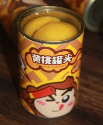 猴小淘:黄桃罐头